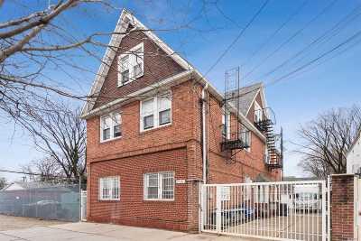 Flushing Multi Family Home For Sale: 77-07 164th St