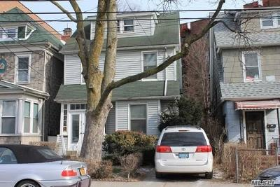 Elmhurst Single Family Home For Sale: 42-15 79th St