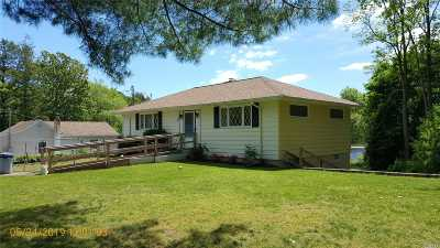 Middle Island Single Family Home For Sale: 40 Half Mile Rd