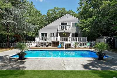 Quogue Single Family Home For Sale: 18 Scrub Oak Rd