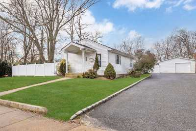 Blue Point Single Family Home For Sale: 248 Blue Point Ave