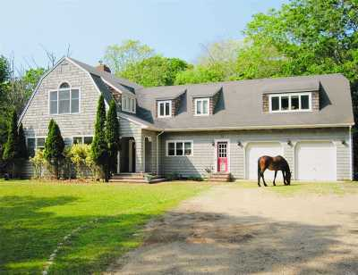 East Hampton Single Family Home For Sale: 46 Red Dirt Rd