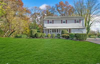 Hauppauge Single Family Home For Sale: 155 Mac Arthur Blvd