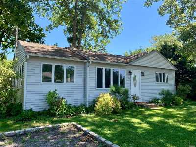 E. Quogue Single Family Home For Sale: 15 Tarpon Rd