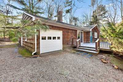 East Hampton Single Family Home For Sale: 12 Phoebe Scoys Rd