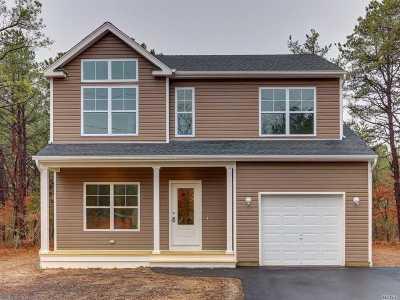 Ridge Single Family Home For Sale: 6 East Margin Dr