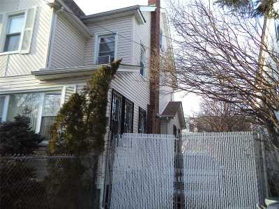 Jamaica Single Family Home For Sale: 172-15 109th Ave