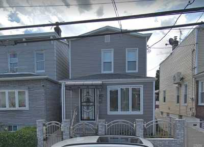Ozone Park Single Family Home For Sale: 97-14 88th Street