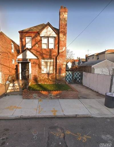 Jamaica Single Family Home For Sale: 119-55 177th Pl