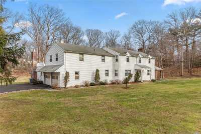Muttontown Single Family Home For Sale: 330 Muttontown Rd