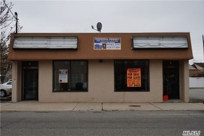 Island Park, Long Beach, Lynbrook, Oceanside, Rockville Centre Commercial For Sale: 342-344 Long Beach Rd