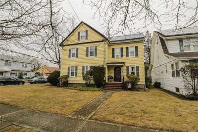 Lynbrook Multi Family Home For Sale: 296 Earle Ave