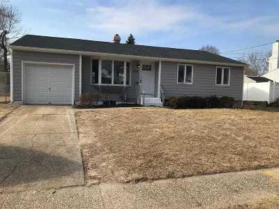 Centereach Single Family Home For Sale: 104 Selden Blvd