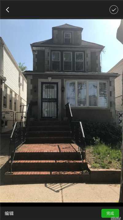 Forest Hills, Rego Park Single Family Home For Sale: 68-48 Nansen St