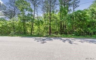 Hampton Bays Residential Lots & Land For Sale: 8 Woodridge Rd