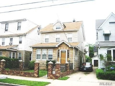 Jamaica Single Family Home For Sale: 116-28 167th St