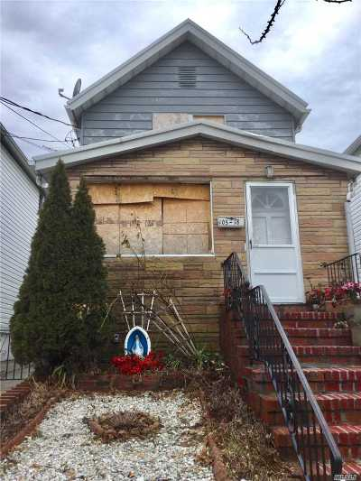 Ozone Park Multi Family Home For Sale: 105-18 91st St