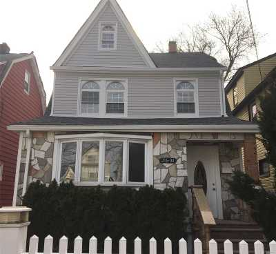 Jamaica Single Family Home For Sale: 216-04 111th Ave