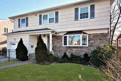Rockville Centre Single Family Home For Sale: 141 Rockaway Ave