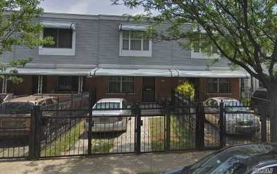 Brooklyn Single Family Home For Sale: 497 Williams Ave