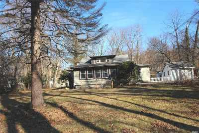 Setauket Single Family Home For Sale: 21 Van Brunt Manor Rd