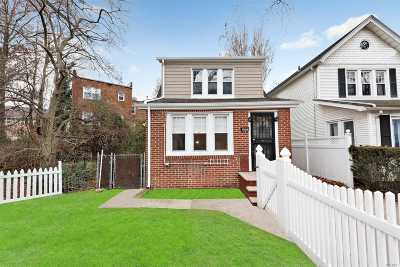 Rego Park Single Family Home For Sale: 69-34 Alderton