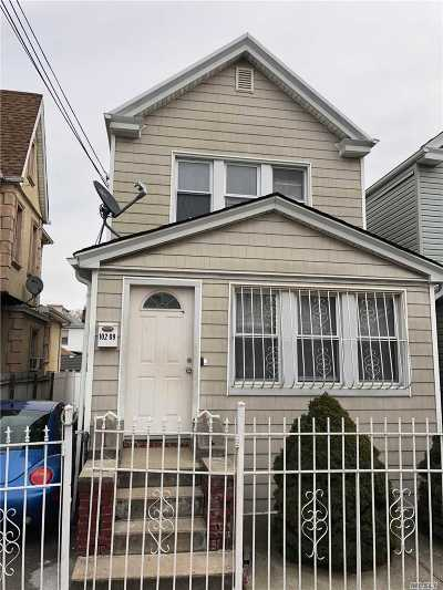 Ozone Park Single Family Home For Sale: 102-09 134 St