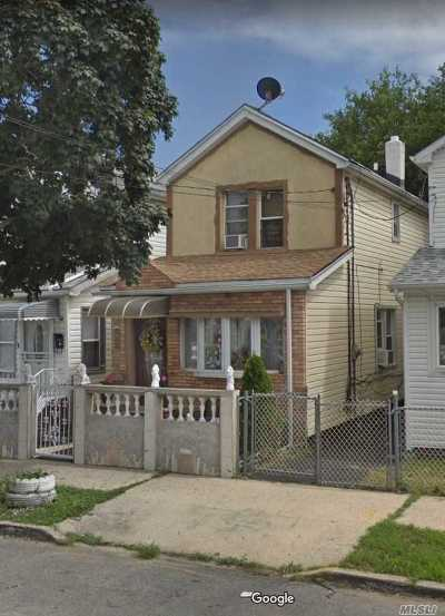 Jamaica Single Family Home For Sale: 145-08 123rd Ave