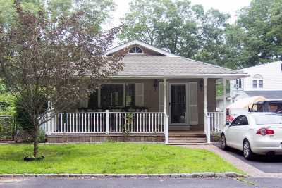 Mastic Single Family Home For Sale: 27 Overlook Dr