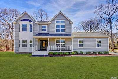 Hampton Bays Single Family Home For Sale: 16 Dogwood Rd