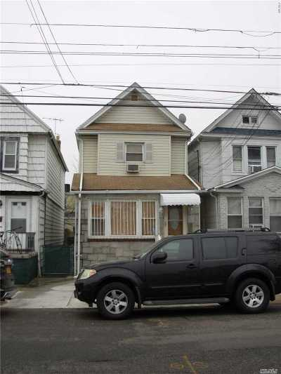 Ozone Park Single Family Home For Sale: 97-26 107th St