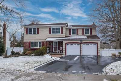 Hauppauge Single Family Home For Sale: 308 Mount Pleasant Rd