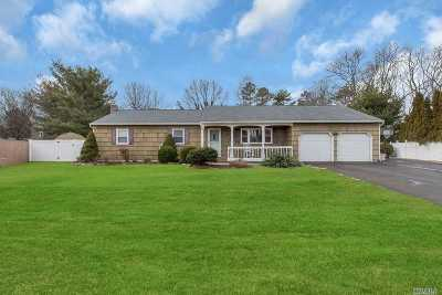 Sayville Single Family Home For Sale: 18 Twin Ct