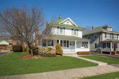 Sayville Single Family Home For Sale: 47 Erwin St