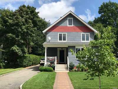 Amityville Single Family Home For Sale: 103 Ketcham Ave