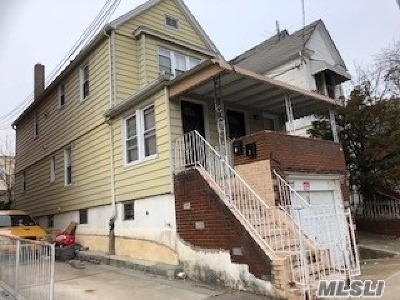 Kew Gardens Multi Family Home For Sale: 85-24 126th St