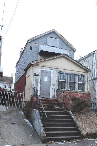 Jamaica NY Single Family Home For Sale: $360,000