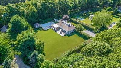 Sagaponack Single Family Home For Sale: 5 Ranch Ct