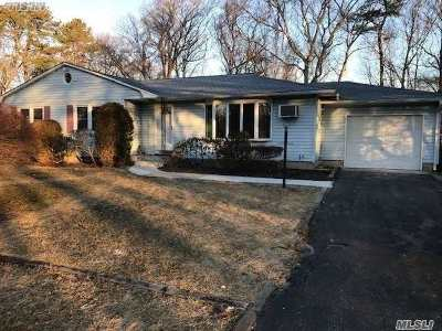 Shirley NY Single Family Home For Sale: $289,990