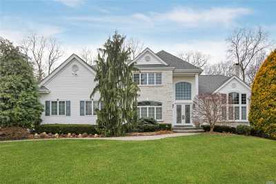 Dix Hills Single Family Home For Sale: 46 Hunting Hollow Ct