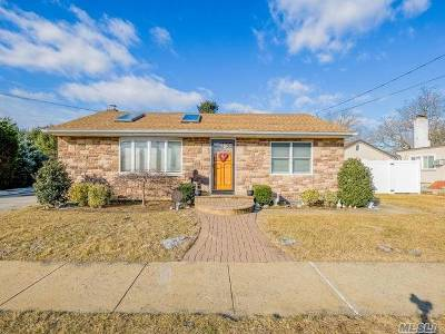 Bethpage Single Family Home For Sale: 41 Stewart Ave