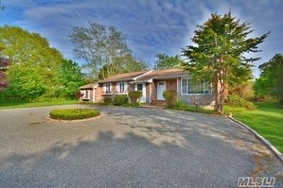 Southampton NY Single Family Home For Sale: $840,000