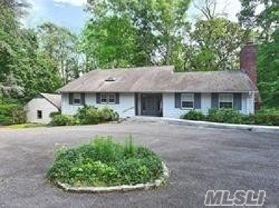 Oyster Bay Single Family Home For Sale: 423 Mill River Rd