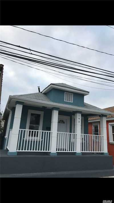 Queens County Single Family Home For Sale: 193 Beach 25th St
