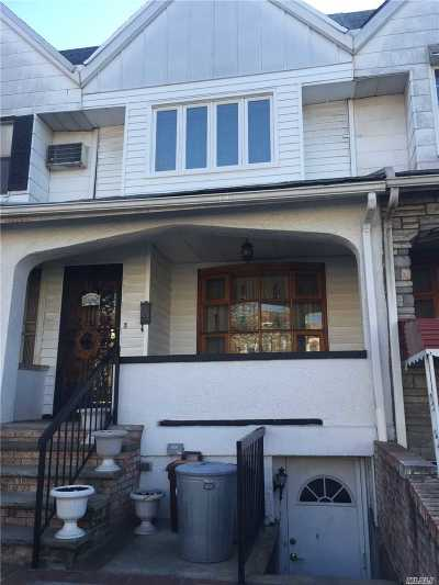 Brooklyn Single Family Home For Sale: 1664 Bay Ridge Pky