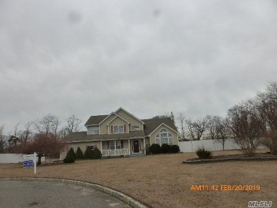 Middle Island Single Family Home For Sale: 17 Sander Ct