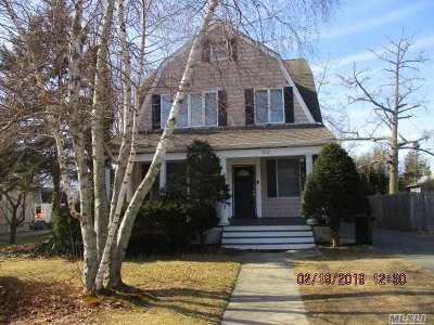 Patchogue Single Family Home For Sale: 252 N Ocean Ave