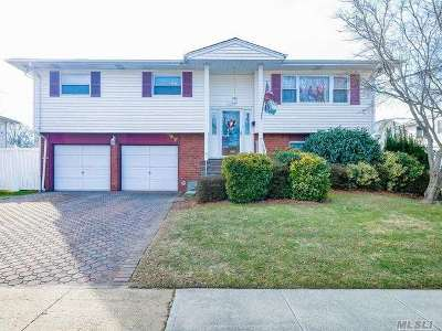 Bethpage Single Family Home For Sale: 17 Sherwood Dr