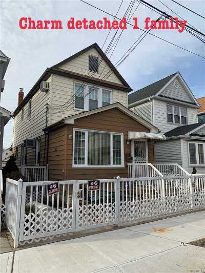 Ozone Park Single Family Home For Sale: 149-54 Huron St