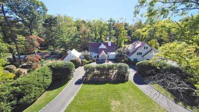 Lloyd Harbor Single Family Home For Sale: 3 Quail Hill Rd